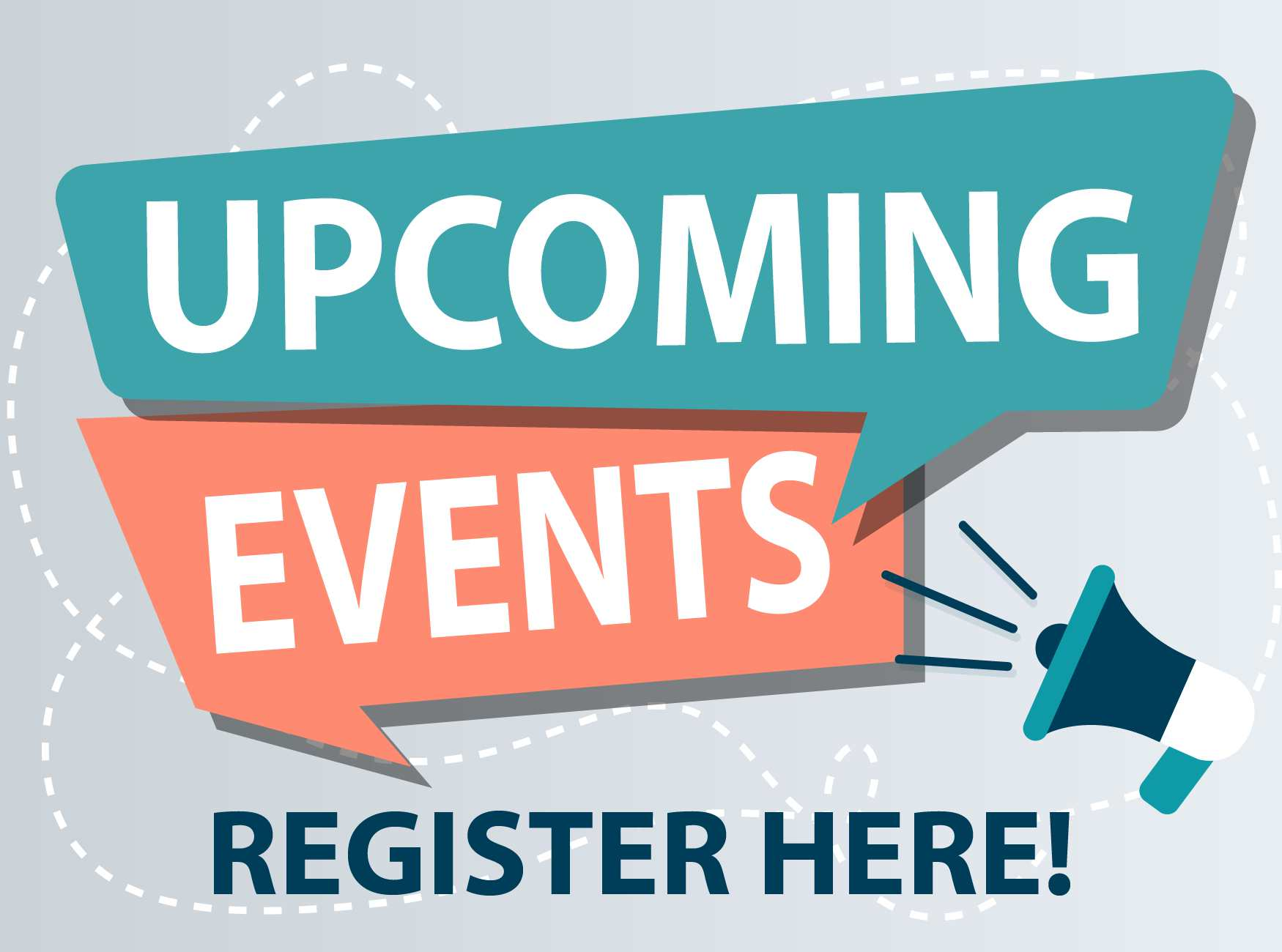 Upcoming Events Register
